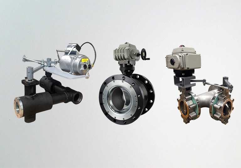 VSI actuated valves